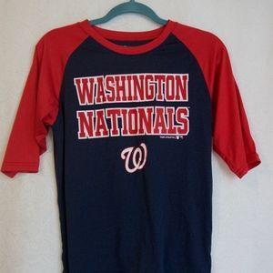 Washington Nationals 3/4 Tee